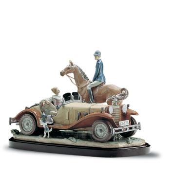 A Happy Encounter (l.e.) Lladro Figurine