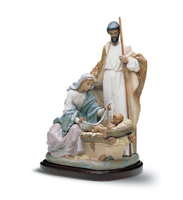 A King Is Born (b) Lladro Figurine
