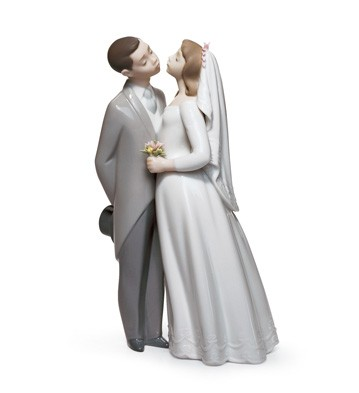 A Kiss To Remember Lladro Figurine