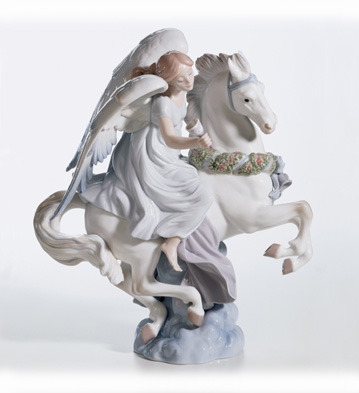 A Message of Joy Lladro Figurine