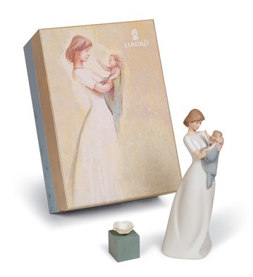 A Mother's Treasure Gift Set Lladro Figurine