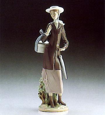 A New Hat Lladro Figurine