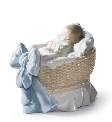 A New Treasure (boy) Lladro Figurine