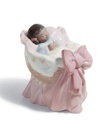 A New Treasure (girl) Black Legacy Lladro Figurine