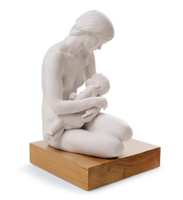 A Nurturing Bond Lladro Figurine