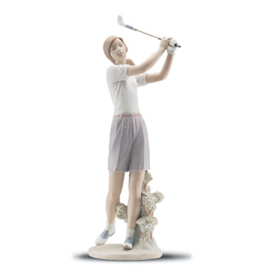 A Perfect Drive Lladro Figurine