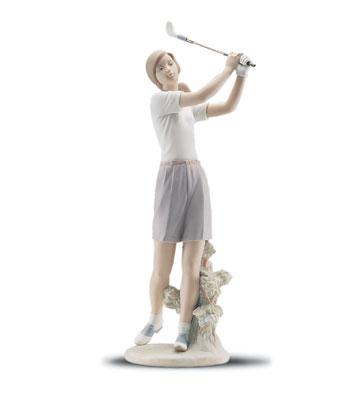 A Perfect Drive Lladro Figurine