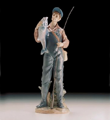 A Prize Catch Lladro Figurine