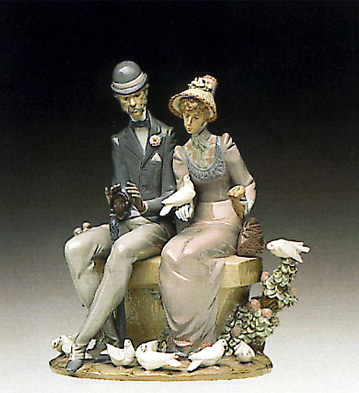 A Quiet Afternoon Lladro Figurine