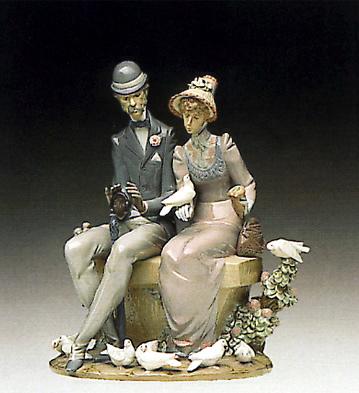 A Quiet Afternoon Lladro Figurine