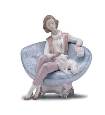 A Quiet Evening Lladro Figurine