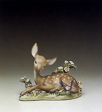 A Quiet Moment Lladro Figurine