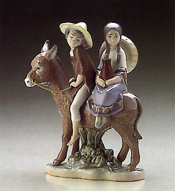 A Ride In The Country Lladro Figurine