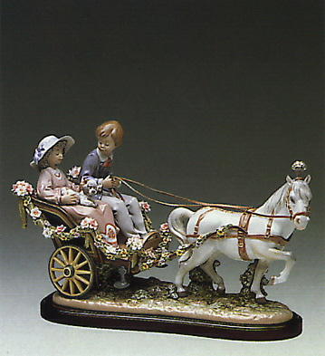 A Ride In The Park (l.e.) Lladro Figurine