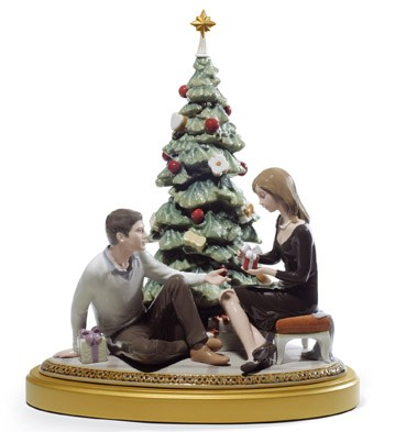 A Romantic Christmas Lladro Figurine