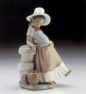 A Steppin'  Time Lladro Figurine