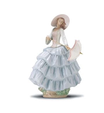 A Stroll In The Sun Lladro Figurine