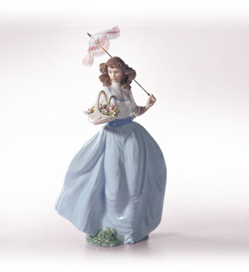 A Sunny Afternoon Lladro Figurine