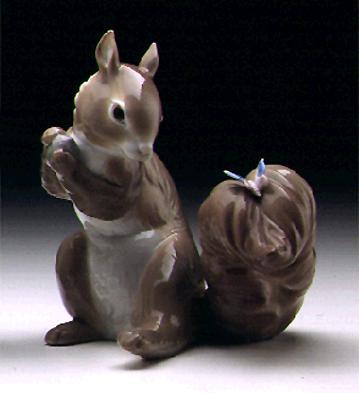 A Surprise Visit Lladro Figurine