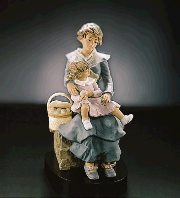 A Treasured Moment (l.e.) Lladro Figurine