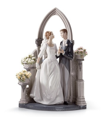 A Vow Of Love Lladro Figurine