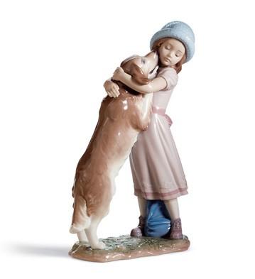 A Warm Welcome Lladro Figurine