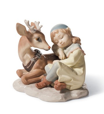 A Well Earned Rest Lladro Figurine