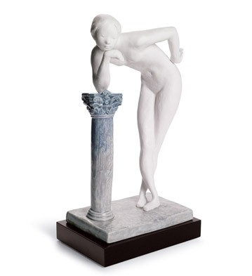 A Woman's Pose Lladro Figurine
