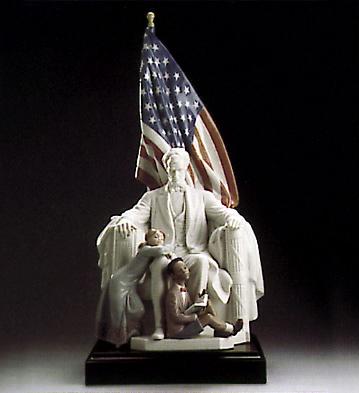 Abraham Lincoln Lladro Figurine