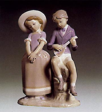Adolescence Lladro Figurine