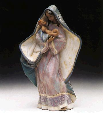 Adoring Mother Lladro Figurine