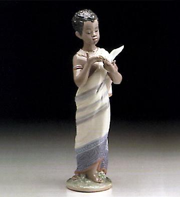 African Boy Lladro Figurine