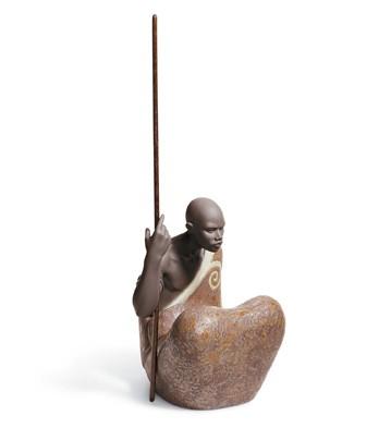 African Man Lladro Figurine