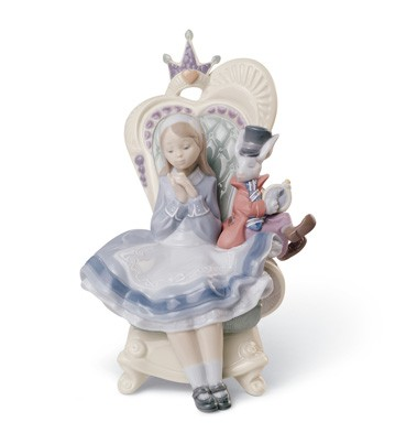 Alice In Wonderland Lladro Figurine