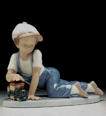 All Aboard Lladro Figurine