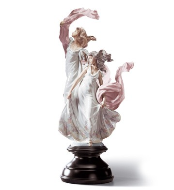 Allegory Of Liberty Lladro Figurine