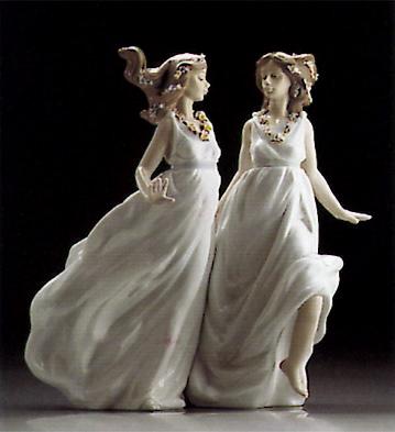 Allegory Of Spring Lladro Figurine