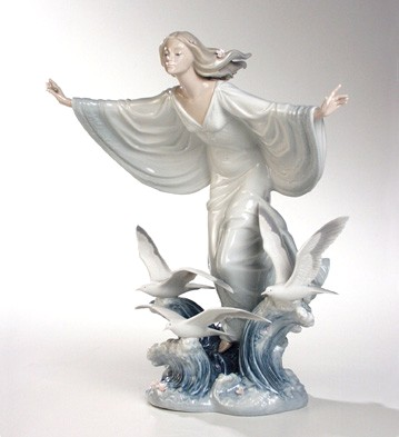 Allegory Of The Sea Lladro Figurine
