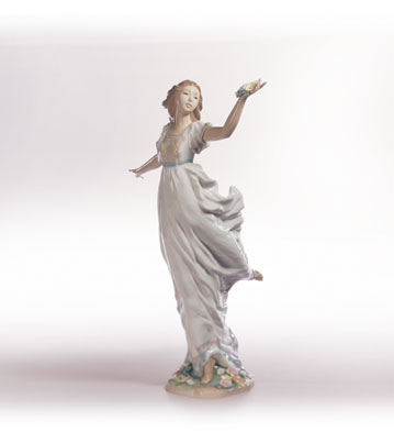 Allegory Of Youth Lladro Figurine