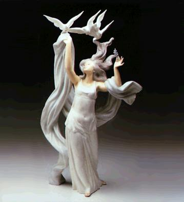 Allegory To Peace (l.e.) Lladro Figurine