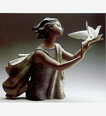 Allegory To The Peace Lladro Figurine
