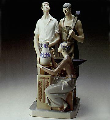 Allegory Lladro Figurine