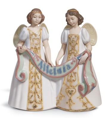 Alleluia - Cantata Lladro Figurine