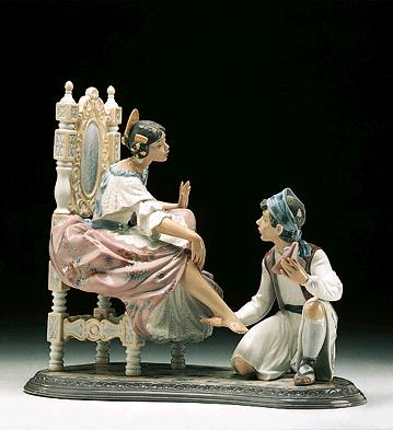 Allow Me Lladro Figurine