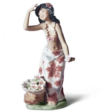 Aloha Lladro Figurine