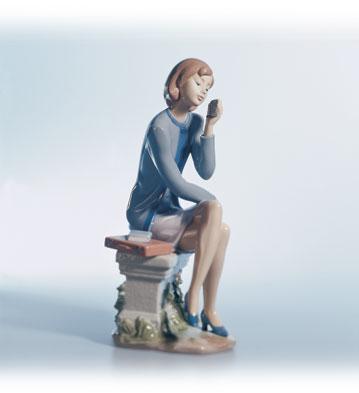 Always On The Go Lladro Figurine