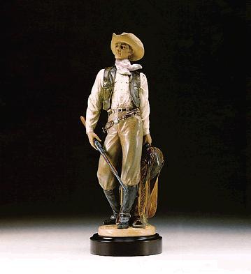 American Cowboy (l.e.) (b) Lladro Figurine