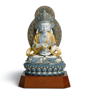 Amitayus Buddha Lladro Figurine