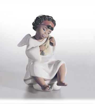 An Angel's Tune Lladro Figurine