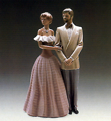 An Evening Out Lladro Figurine